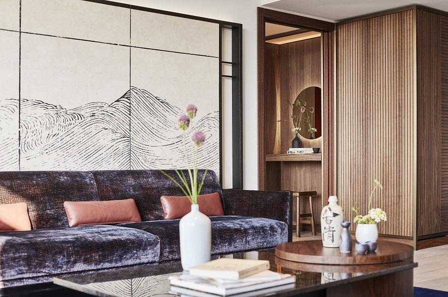 Habitación del hotel Nobu Barcelona