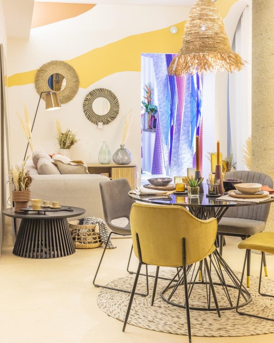 fibras naturales diseño y artesanía kave home en casa decor